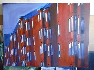 Recent Work. unfinished tenements