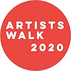 News, About <BR>& Contact Details. Nov 20: Artists Walk Logo Smaller